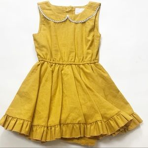 Little Mini's Mustard Dress